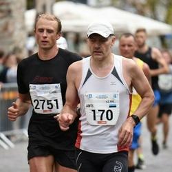 Tallinna Maraton - Anti Toplaan (170), Andre Pukk (2751)