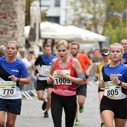 Tallinna Maraton - Krista Suppi (770), Anet Adamson (805), Annika Rand (1005)