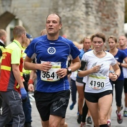 Tallinna Maraton - Mart Maandi (3641), Anita Feldmane (4190)