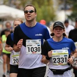 Tallinna Maraton - Artur Telling (1030), Veronika Versh (2331)