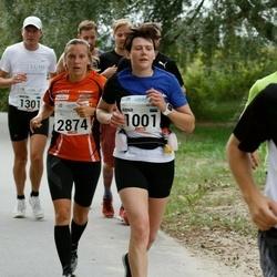 Tallinna Maraton - Anna Ovtšarenko (1001), Sofie Hahtokari (2874)