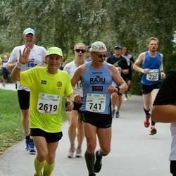 Tallinna Maraton - Jouni Saloniitty (741), Aegir Magnusson (2619)