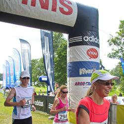 32. Jooks Ümber Pühajärve - Marge Saadre (175), Birgit Haasmaa (294)
