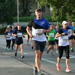 Tallinna Maraton - Tarmo Kadak (2666), Annely Reinart (2702)