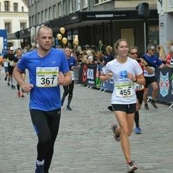 Tallinna Maraton - Rainer Mark (367), Annika Meos (455)