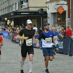 Tallinna Maraton - Edgars Vinovskis (850), Aarne Vasarik (3652)