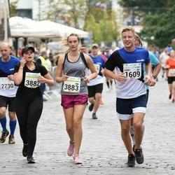 Tallinna Maraton - Henry Kolkkanen (1609), Beate Simane (3882), Agita Solzemniece (3883)