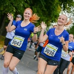Tallinna Maraton - Krista Koval (3038), Minni Andla (3042)
