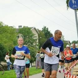 Tallinna Maraton - Abderrahim El Hamine (691), Kerttu Kongas (2054)