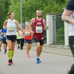 Tallinna Maraton - Aleksandra Kazanina (3969), Jevgenijs Kazanins (4002)