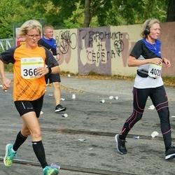 Tallinna Maraton - Birgi Putkonen (3666), Pirjo Mettänen (4020)
