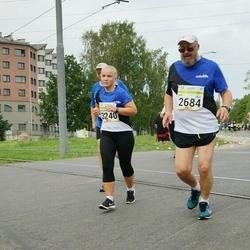 Tallinna Maraton - Ari Luostarinen (2684), Maianžely Uutar (3240)