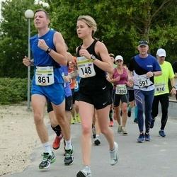 Tallinna Maraton - Bobrova Anna (148), Margus Kukkur (861)