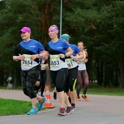 Tallinna Maraton - Anni Jäntti (2653), Anu Räisänen (2654)