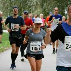 Tallinna Maraton - Annemari Muru (1357), Ivar Krustok (2309), Viljar Koppel (2455)