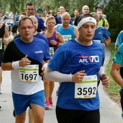 Tallinna Maraton - Pavel Barkác (1697), Branislav Bosika (3592)