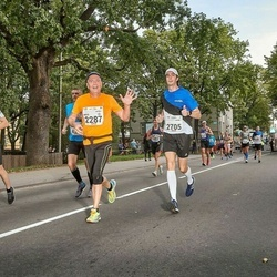 Tallinna Maraton - Arto Väkiparta (2287), Andrejs Masalskis (2705)