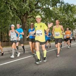 Tallinna Maraton - Aegir Magnusson (2619), Kaupo Tiislär (2697)