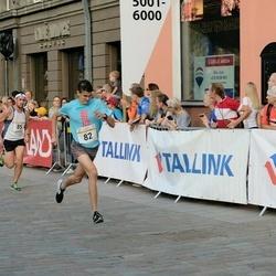 Tallinna Maratoni Sügisjooks 10 km - Hardy Kaska (82), Aare Kutsar (85)