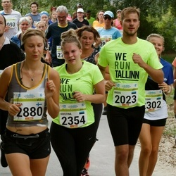 Tallinna Maraton - Madis Puust (2023), Kristina Minski (2354), Anna Niemi (2880)