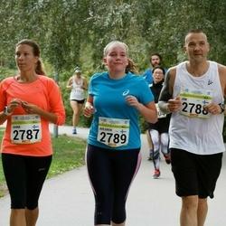 Tallinna Maraton - Jaana Ahlgren (2787), Jon Ahlgren (2788), Ahlgren Aida (2789)