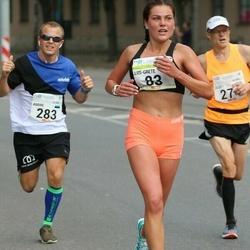 Tallinna Maraton - Liis-Grete Arro (83), Andre Kaaver (283)