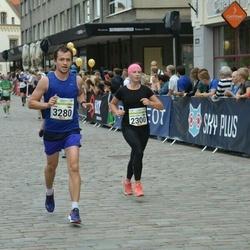 Tallinna Maraton - Anna-Liisa Pärnalaas (2300), Ivan Kataitsev (3280)