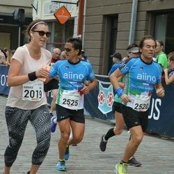 Tallinna Maraton - Georgiy Vyatkin (252), Annika Aarnio (2019), Germano Dotto (2525)