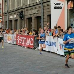Tallinna Maratoni Sügisjooks 10 km - Kristjan Pärna (55), Kert Kask (154), Agu Lehemaa (5187)