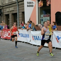 Tallinna Maratoni Sügisjooks 10 km - Sulev Kraam (266), Vitali Petrištšev (442), Ando Hermsalu (939), Samu Nerg (3906)