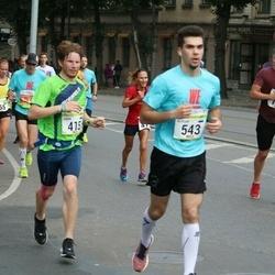 Tallinna Maraton - Endre Varik (415), Ruslan Jegorov (543)