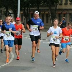 Tallinna Maraton - Risto Väljak (331), Annika Meos (455), Marko Põder (551), Andres Braunbrück (681), Helena Peik (712), Andrey Savelyev (1869)