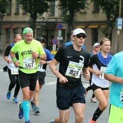 Tallinna Maraton - Agur Jõgi (567), Mattias Liivak (828)