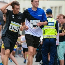 Tallinna Maraton - Rain Gussev (305), Ago Saluveer (3167)