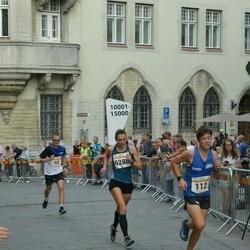 Tallinna Maratoni Sügisjooks 10 km - Mark-Markos Kehva (112), Brit Rammul (6288)