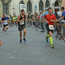 Tallinna Maratoni Sügisjooks 10 km - Arno Kärg (249), Philip Paškov (6651)