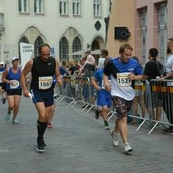 Tallinna Maratoni Sügisjooks 10 km - Jürgen Kitkas (1521), Alexander Shaykin (1661)