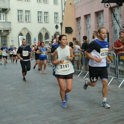 Tallinna Maratoni Sügisjooks 10 km - Anna Maria Võsu (3191), Rauno Tikko (4530)