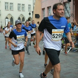 Tallinna Maratoni Sügisjooks 10 km - Artem Stepanenko (5295), Evodie Koolstra (6236)