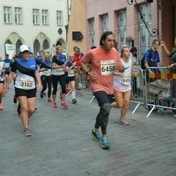 Tallinna Maratoni Sügisjooks 10 km - Kristi Saard (3162), Alexander Sokolov (6458)