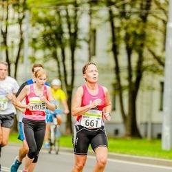 Tallinna Maraton - Marja Reilimo (661), Annika Rand (1005)