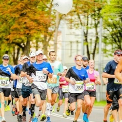 Tallinna Maraton - Eik Eller (513), Liisa Kull (3806), Lauri Tomp (3938)