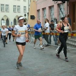 Tallinna Maratoni Sügisjooks 10 km - Berit Truuts (5366)