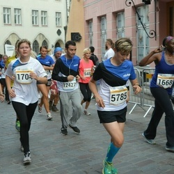 Tallinna Maratoni Sügisjooks 10 km - Laura Cukkere (1704), Anastasia Yurina (5785)