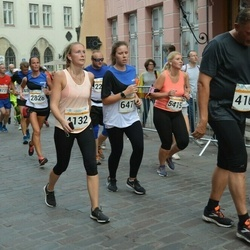 Tallinna Maratoni Sügisjooks 10 km - Michael Carell (4109), Nelli Balakireva (4132), Helen Pavlov (5415), Britta Pung (6471)