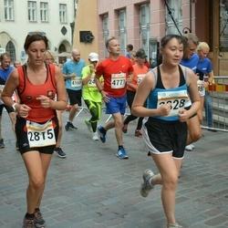 Tallinna Maratoni Sügisjooks 10 km - Ester Domenech Pubill (2815), Annelise Pastarus (3702)