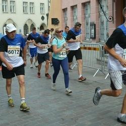 Tallinna Maratoni Sügisjooks 10 km - Aavo Halling (6012), Ludmila Lavruhhina (6423)