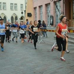 Tallinna Maratoni Sügisjooks 10 km - Jan Geisor (2155), Kaja Jõemets (2531), Katrin Lipp (2979), Kristi Tarassov (5731), Anna Pešta (5735), Jan-Markus Soosaar (5995)