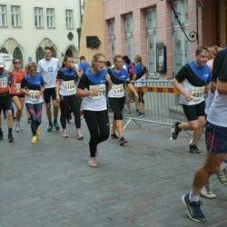 Tallinna Maratoni Sügisjooks 10 km - Eero Kalm (4889), Annely Jaanson (5104), Maarja Jürman (5146), Helena Katariina Tõnise (6250)