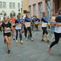 Tallinna Maratoni Sügisjooks 10 km - Tuuli Magerin (1694), Eero Kalm (4889), Annely Jaanson (5104), Maarja Jürman (5146), Helena Katariina Tõnise (6250)